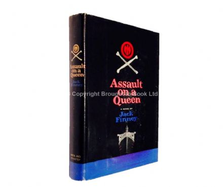 Assault On a Queen by Jack Finney First Edition Simon & Schuster 1959